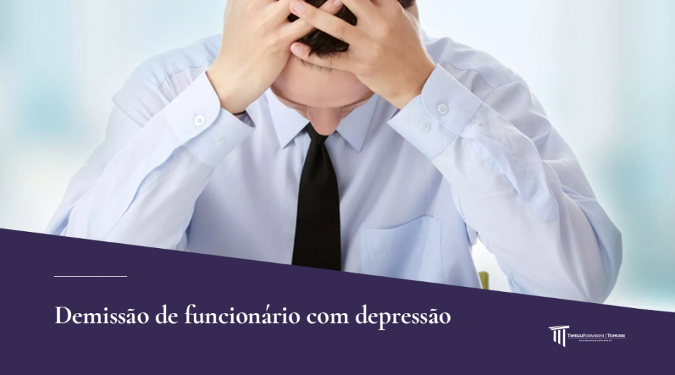 Demissão de funcionário com depressão